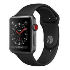 Apple Watch Series 3智能手表 GPS+蜂窝网络款 铝金属表壳搭配运动型表带 38mm图片