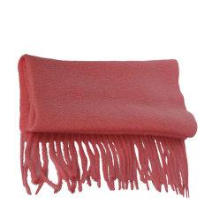 【包邮免税】Ozwear UGG时尚保暖美丽诺羊毛围巾 西瓜红图片
