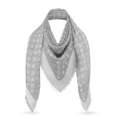 Louis Vuitton/路易威登 DENIM MONOGRAM 披肩 M70803图片