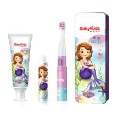SAKY/舒客 舒客宝贝儿童声波电动牙刷B221X套装-迪士尼(款式可选)图片