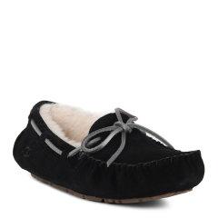 【免税】UGG/UGG女鞋  新款蝴蝶结纯羊毛浅口平底鞋豆豆鞋 平跟鞋 1019069图片