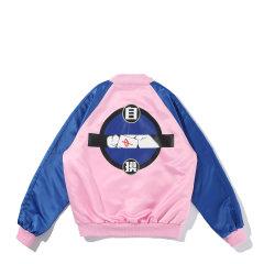 【DesignerWomenwear】5min/5min麻将文化黑色自摸印花女士夹克图片