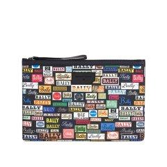 18秋冬新品 BALLY/巴利 男士多色PVC品牌字母印花手拿包 BOLLIS LARGE PL图片