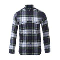 BURBERRY/博柏利 男士长袖衬衫 格纹纯棉翻领男士长袖衬衫图片