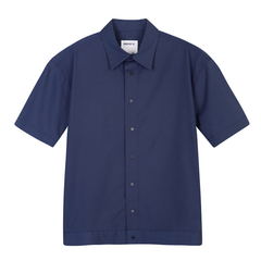 【Designer Menwear】DEPOT3/DEPOT3男装品牌翻领短袖衬衫男士夹克图片