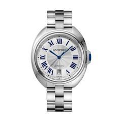 张翰 腕表/CARTIER/卡地亚CLÉDE CARTIER系列自动机械腕表WSCL0006