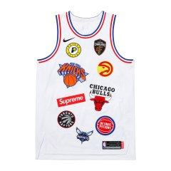 Supreme 18ss NBA teams JERSEY 球衣 球队 篮球背心 篮球衣图片