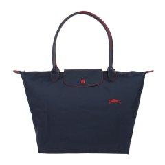 Longchamp/珑骧   LE PLIAGE CLUB系列女士纪念款大号折叠长柄饺子包单肩手提包 1899 619图片