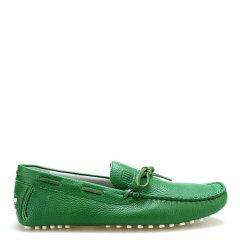 BIKKEMBERGS/毕盖帕克  牛皮 荔枝纹一脚蹬豆豆鞋 男士乐福鞋图片