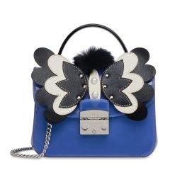 FURLA/芙拉  女士PVC蓝色糖果黄红色手提包可单肩 961710-146#181126WZJ图片
