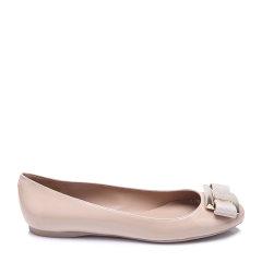 Salvatore Ferragamo/菲拉格慕袋鼠皮材质蝴蝶结装饰女士低/中跟鞋单鞋图片