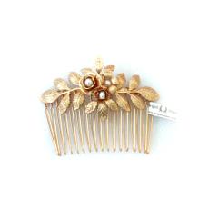 【Designer Jewelry】Avigail Adam Amber系列珍珠插梳Amber Flower Comb 2图片
