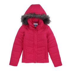 【免税】Columbia/哥伦比亚  美国直邮 纯色带帽滑雪服女防水棉户外女士夹克外套 1673981图片
