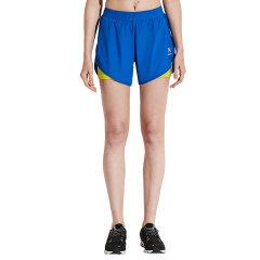 美国后秀/HOTSUIT 2019年夏季 运动短裤 女 假两件健身短裤 速干三分裤图片