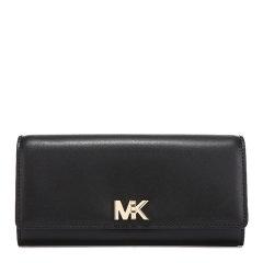 MichaelKors/迈克·科尔斯女士Saffiano皮革长款按扣钱包钱夹32T7GOXE3L图片