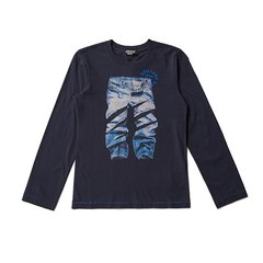 DIESEL KIDS 迪赛 男童长袖T恤 儿童T恤 1174T002图片