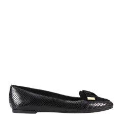 【17秋冬】 MICHAEL MICHAEL KORS/MICHAEL MICHAEL KORS 皮革 时尚 芭蕾舞鞋 黑色 女士平跟鞋 GIG图片