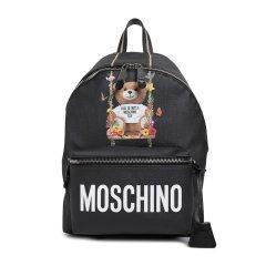 MOSCHINO/莫斯奇诺 女士聚氨酯纤维双肩包图片