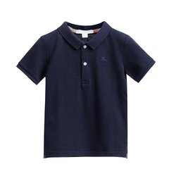 BURBERRY/博柏利 男童苹果红棉质Polo衫 4018365图片