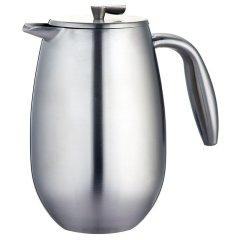 丹麦bodum波顿哥伦比亚系列法压壶 隔热双层不锈钢手压咖啡壶350ml图片