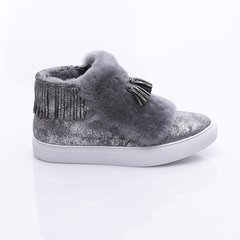 Axa ugg/Axa ugg  女士雪地靴 Waterfall Sneaker流苏雪地靴图片