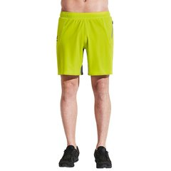 后秀/HOTSUIT 2019年夏 男士运动健身短裤 假两件 透气运动跑步健身裤 运动短裤男图片