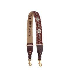 【包邮包税】DIOR/迪奥 19春夏女士新款DIOR OBLIQUE刺绣复古肩带包带 (3色可选) S8520CTZQ_M974图片