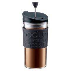 丹麦bodum波顿 原装进口压滤式随行杯双层塑料法压咖啡杯350ml隔热图片