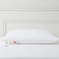 FOSSFLAKES进口 德国有机棉 水洗无甲醛中高/中低枕48*74cm  购买2只枕芯,送配套枕套1只图片