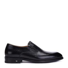 CHARRIOL/夏利豪 头层牛皮男士布洛克雕花商务正装皮鞋图片