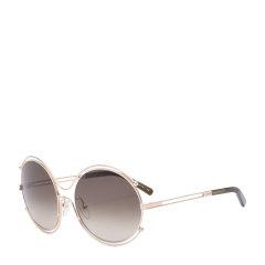 CHLOE/克洛伊 太阳镜 CE122S女士镂空金属圆框墨镜 时尚海报款眼镜图片