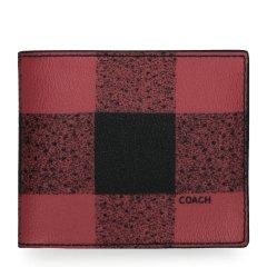 COACH/蔻驰 男士时尚格子短款钱包 37352 多色可选图片