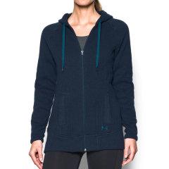 Under Armour/安德玛 女士 连帽 卫衣全拉链加绒保暖健身跑步 女士 运动夹克 / 外套 1240071图片