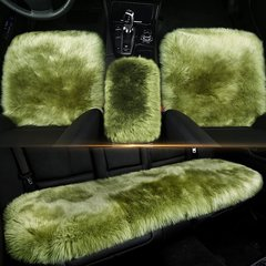 pinganzhe  汽车新款纯羊毛三件套座垫 汽车秋冬季长款羊毛座垫烈焰红 全部图片