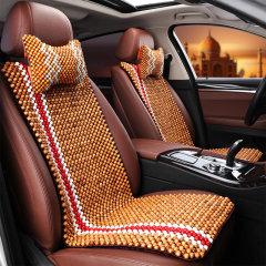 pinganzhe 汽车夏季木珠座垫 夏季透气木珠凉垫  汽车手工编织木珠坐垫图片