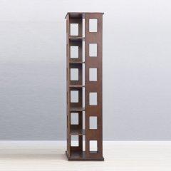 INNESS/英尼斯 榉木六层旋转书架置物架图片