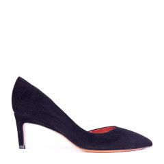 SANTONI/圣东尼 女士麂皮尖头高跟鞋 WDXN56089CA2RMGD图片