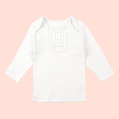 Anne Geddes安妮.格迪斯 女宝宝上衣有机棉婴儿衣服萌宝宝天使翅膀T恤1-2岁图片