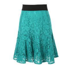 Dolce&Gabbana/杜嘉班纳女士半裙-女士时尚裙子面料;46棉43粘纤11锦纶里料:86桑8棉4氨纶2锦纶图片