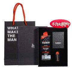 原装正版Zippo防风打火机 哑漆彩印送男友礼物正品图片