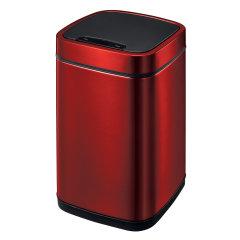 EKO/宜可 6升感应垃圾桶家用厨房智能欧式创意客厅卧室卫生间不锈钢筒图片