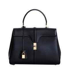 CELINE/赛琳19春夏新款女士中号黑色牛皮单肩手提包(5色可选)图片