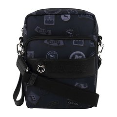 BALLY/巴利男士时尚印花单肩斜挎包SKYLLER020蓝色图片