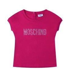 MOSCHINO KIDS/MOSCHINO KIDS 女童白色混纺T恤 MFM024 LBA00 10063图片