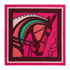 【礼盒装 多色可选】Hermes/爱马仕 Gavroche Twilly系列骏马印花女士多色丝巾#H893244S 03图片
