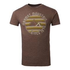 MARMOT/土拨鼠春夏新款户外男式超轻棉面料圆领短袖透气T恤F900443图片