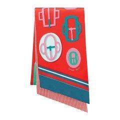 【礼盒装 多色可选】Hermes/爱马仕 20*160cm Maxi Twilly系列印花女士多色长丝巾#H093213S 08图片