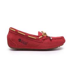 DK UGG/DK UGG  女士休闲运动鞋  防泼水隐形高跟春季豆豆鞋(尺码偏大)图片