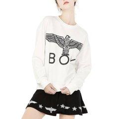【英版】BOY LONDON/boy london 伦敦男孩  男女同款 圆领 大鹰标印花 男士 长袖 女士卫衣 运动 套头衫 998图片