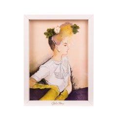GeleiStory/GeleiStory相框画一笑倾城系列永生花相框画 原创艺术画伴手礼 送闺蜜 生日礼物 年货节 店铺特惠图片